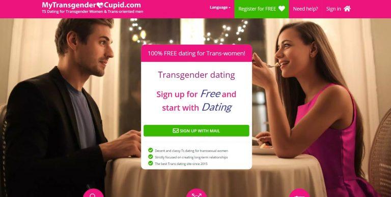 MyTransgenderCupid homepage