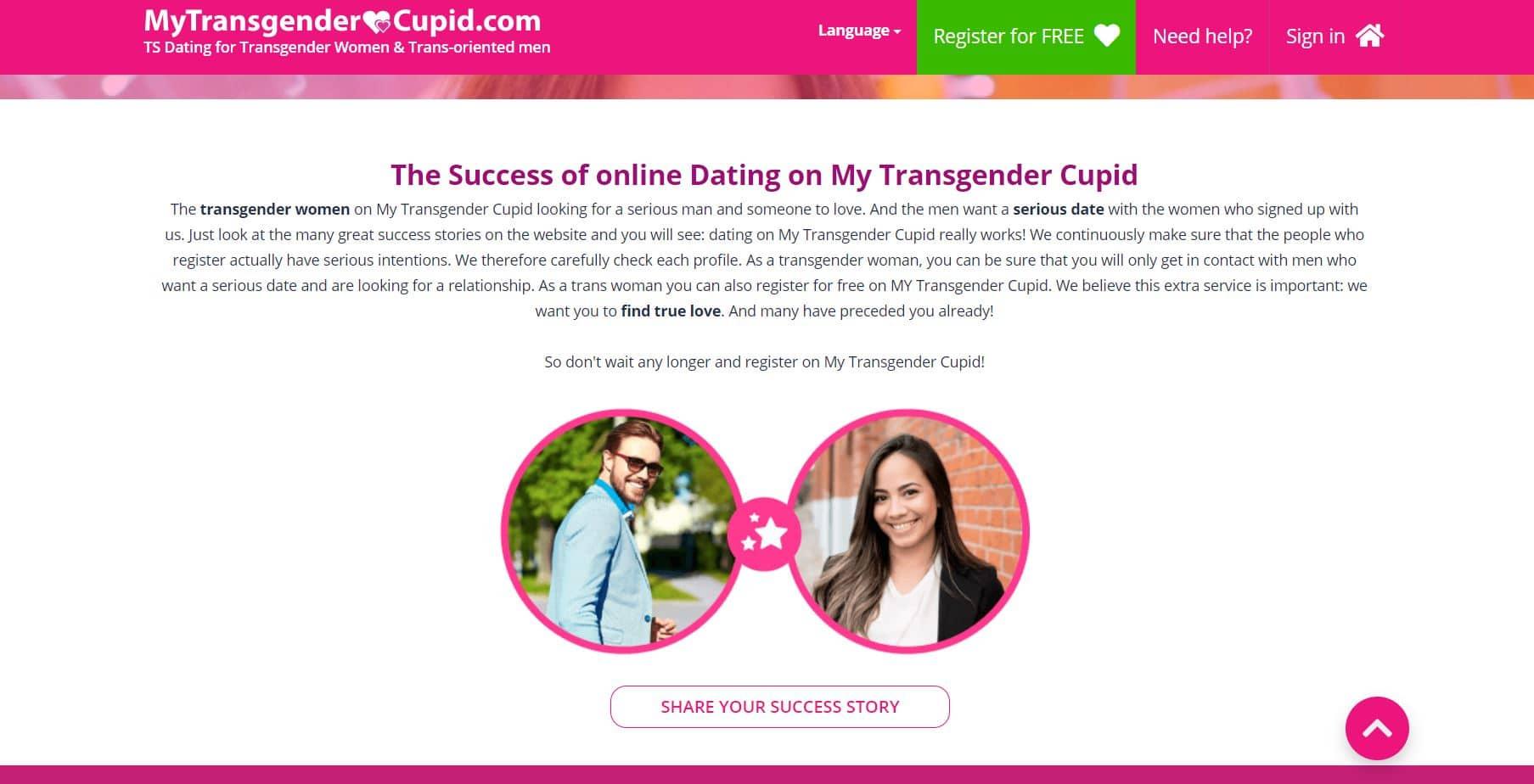 MyTransgenderCupid story